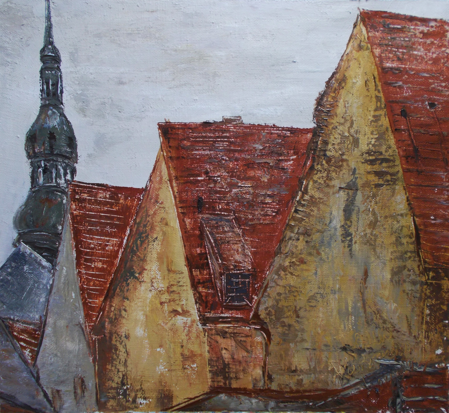 Alla Preobrazhenska-Ronikier - Roofs of the old town