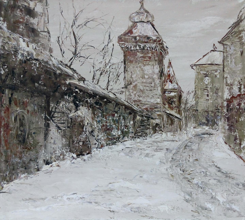 Alla Preobrazhenska-Ronikier - Winter Krakow