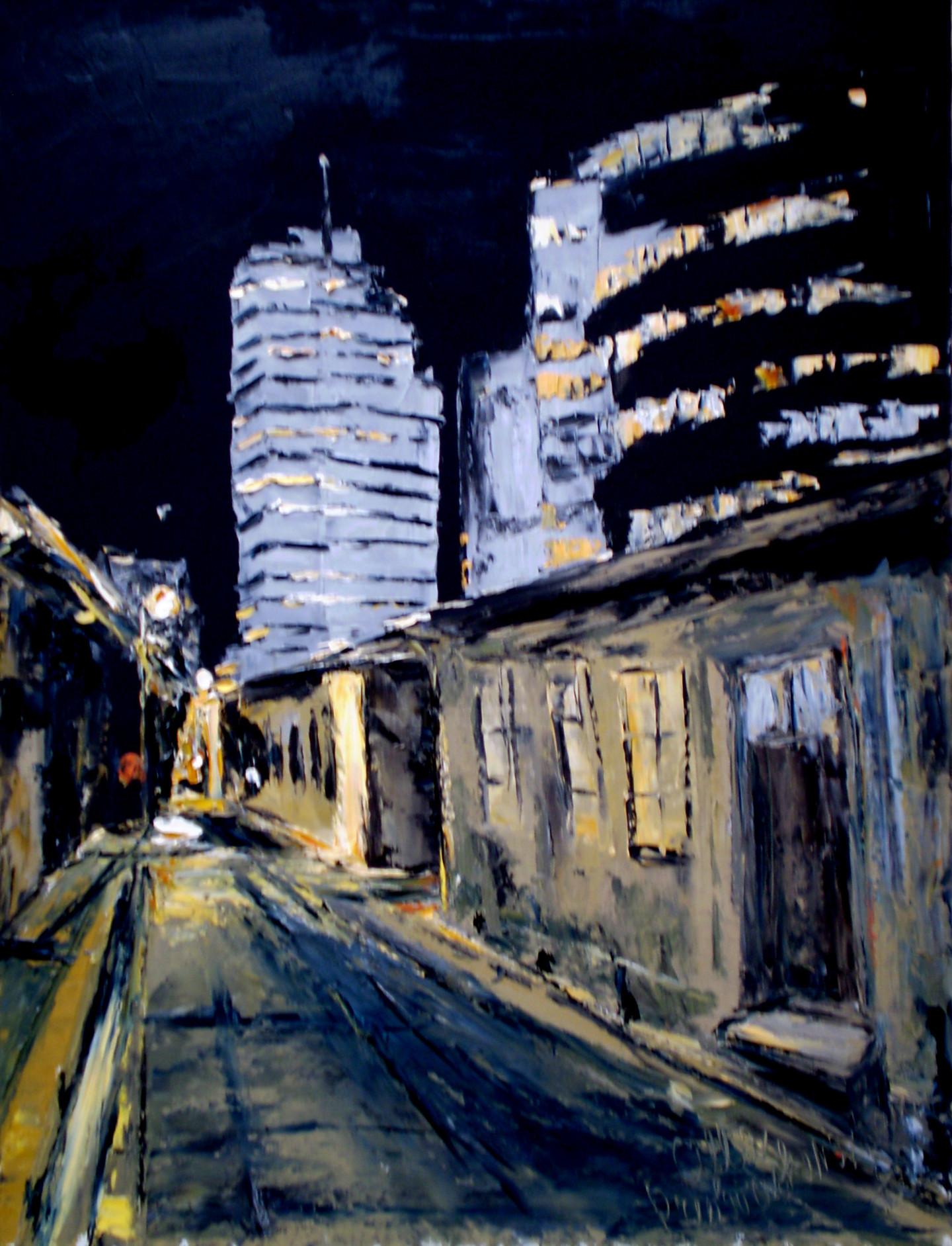 Alla Preobrazhenska-Ronikier - Tel Aviv. Night city