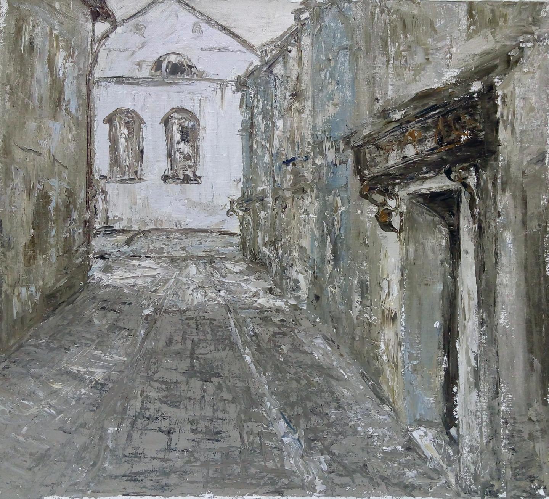 Alla Preobrazhenska-Ronikier - Street in Krakow
