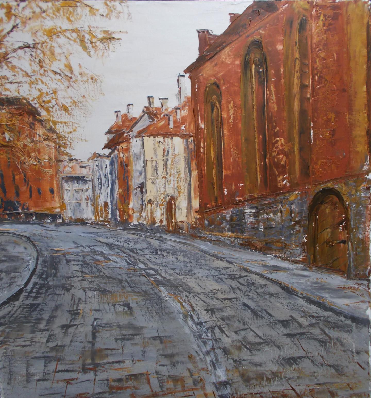 Alla Preobrazhenska-Ronikier - Street corner