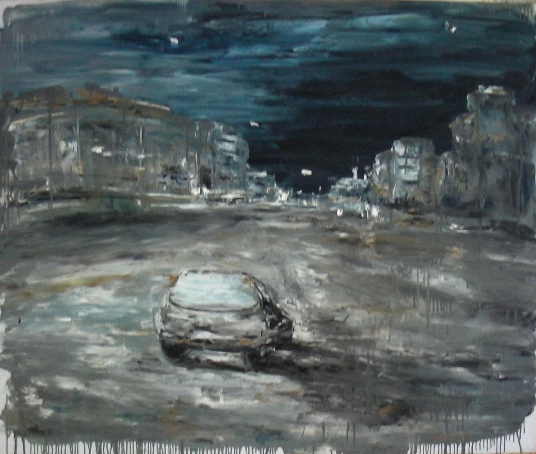 Alla Preobrazhenska-Ronikier - Lonely car