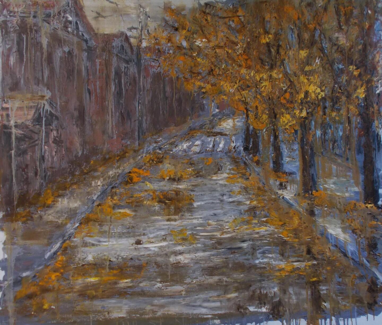 Alla Preobrazhenska-Ronikier - Rainy autumn