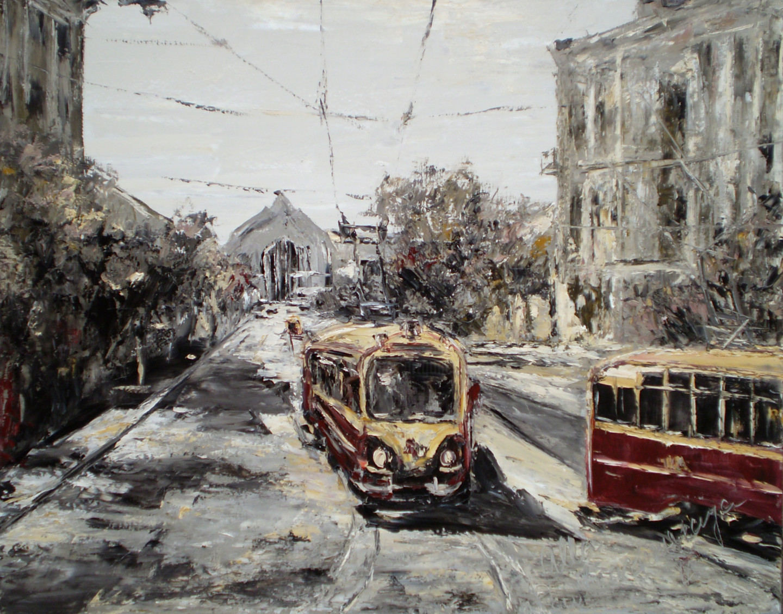 Alla Preobrazhenska-Ronikier - Kiev trams