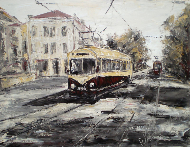 Alla Preobrazhenska-Ronikier - Kyiv tram