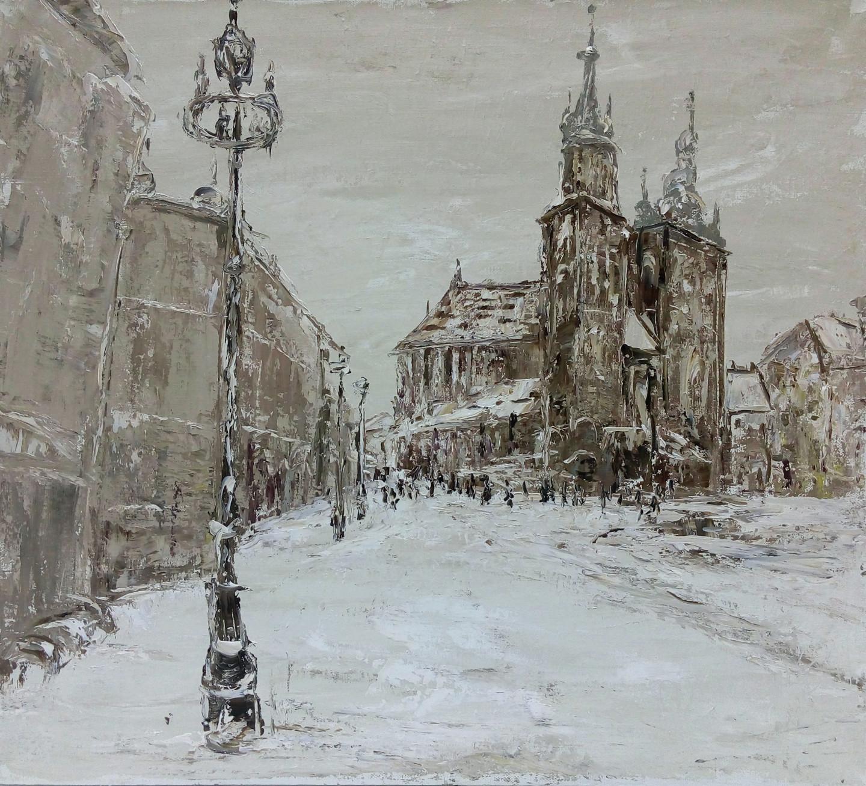 Alla Preobrazhenska-Ronikier - Winter in Krakow