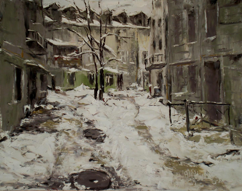 Alla Preobrazhenska-Ronikier - Winter city