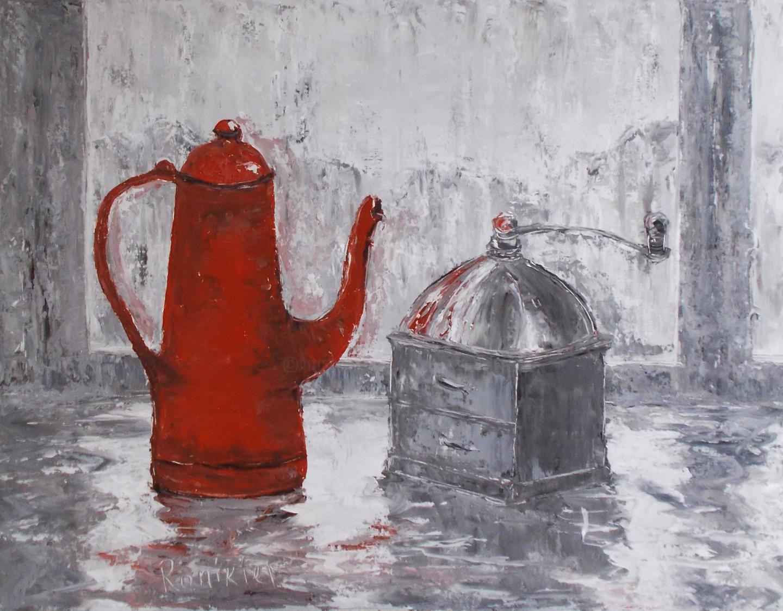 Alla Preobrazhenska-Ronikier - Coffee grinder