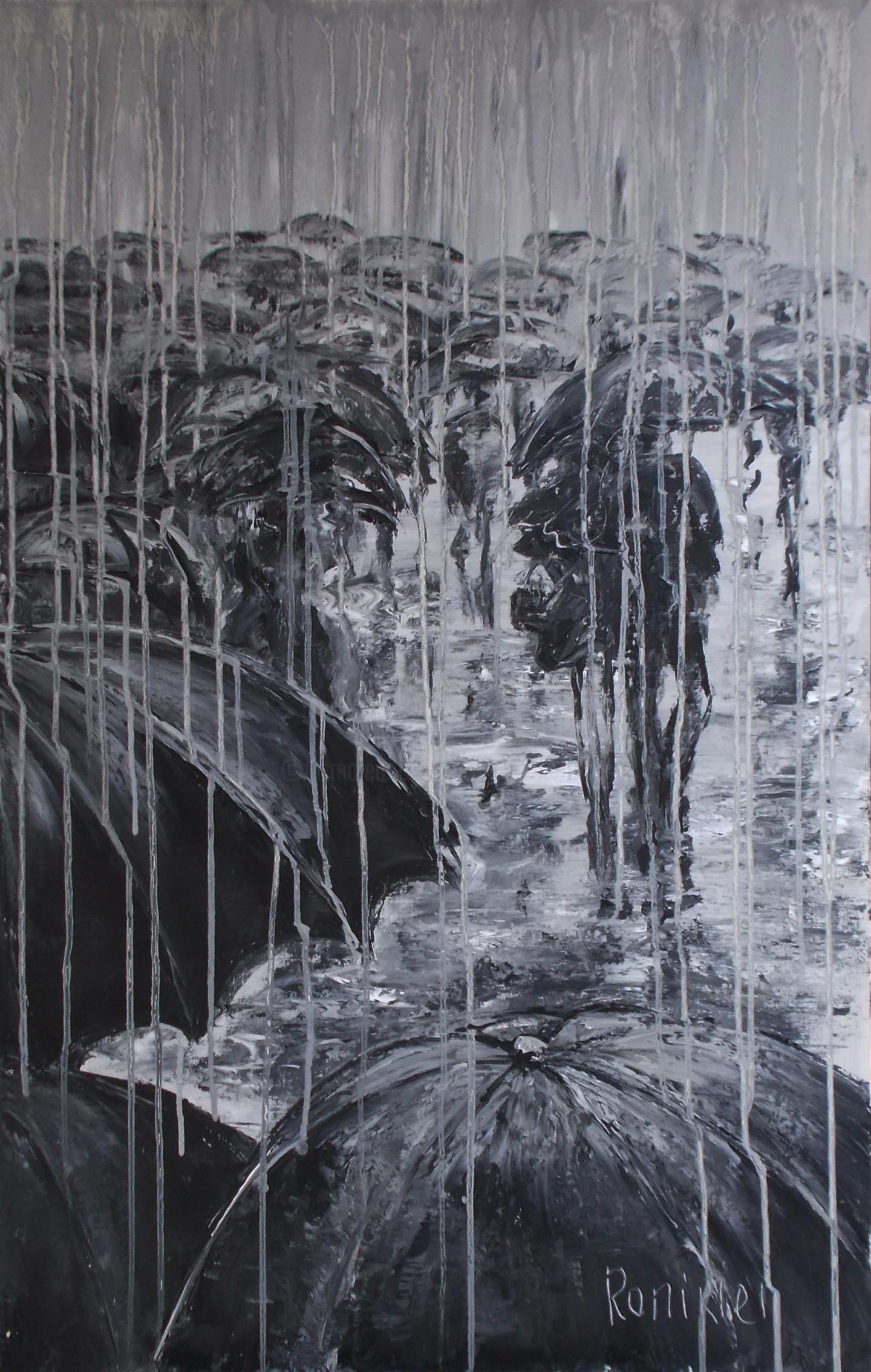 Alla Preobrazhenska-Ronikier - Paris.Rain