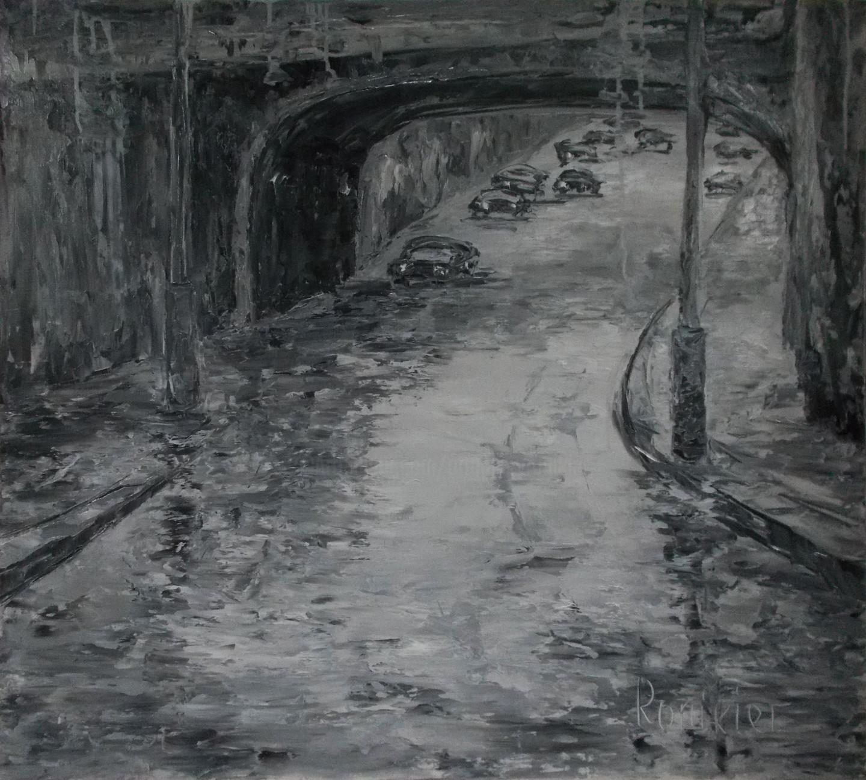 Alla Preobrazhenska-Ronikier - Road under the bridge