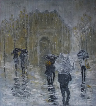 Paris. Rainy.